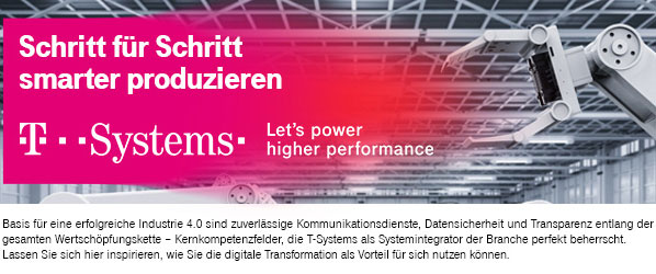 T-Systems,Digital Manufacturing,Industrie 4.0