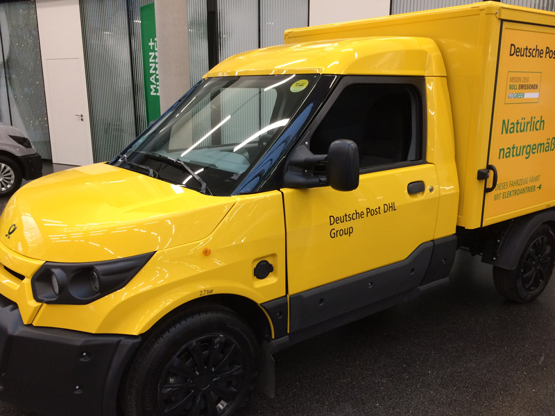 StreetScooter, Deutsche Post