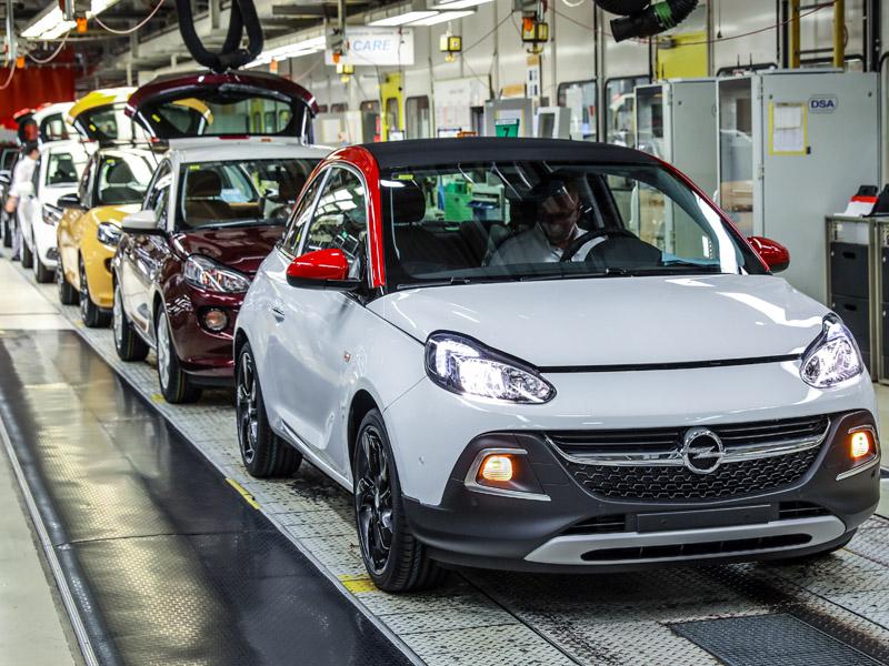 Opel Adam Produktion in Eisenach
