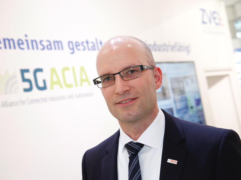 Dr. Andreas Müller, Vorsitzender der 5G Alliance for Connected Industries and Automation
