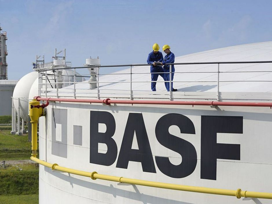 BASF expandiert in China.