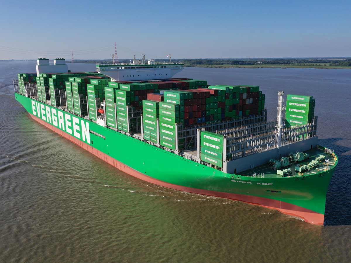 Ever Ace: Das ist das größte Containerschiff der Welt